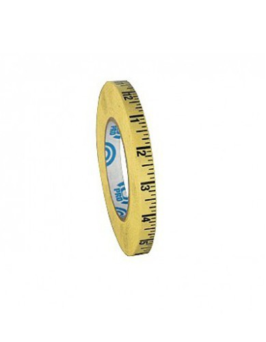 Adhesive Ruler Tape in inches, 12.7cm x 54m roll