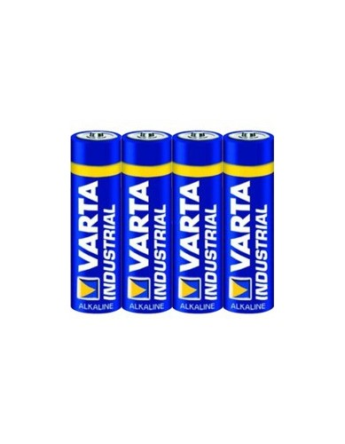 VARTA INDUSTRIAL LR06 AA Alkaline Batteries (Pack of 4)
