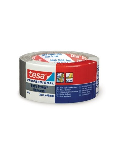 TESA 4612 Duct Tape, 48mm x 25m roll
