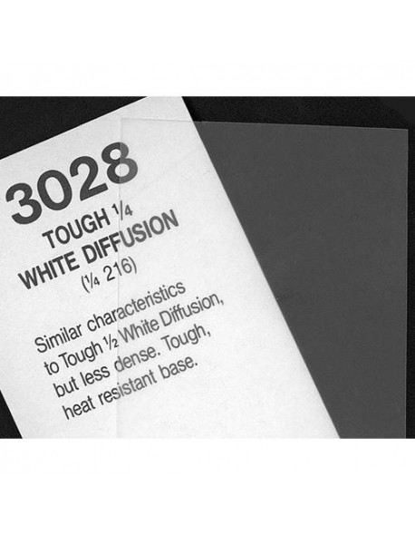 Cinegel 3028 1/4 Tough White Diffusion ROSCO
