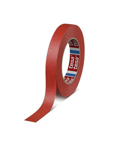 TESA Red Paper Tape, 19mm x 50m roll