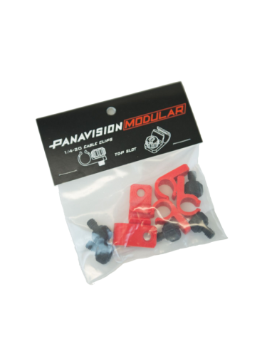 Cable Clips Black PANAVISION