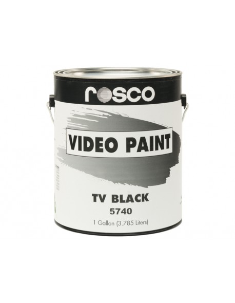 "Paint ""TV Black"" 1 Galón (3,8 Li) ROSCO"