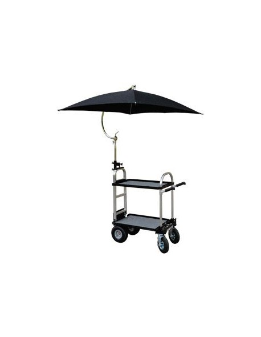 Umbrella Canvas Black MAG-U BK BACKSTAGE