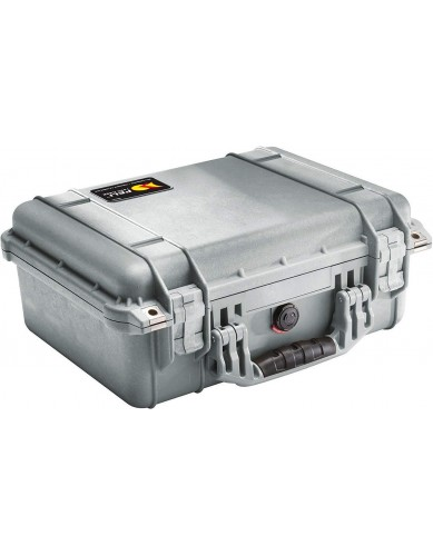 Peli Case 1450 with Foam - Silver