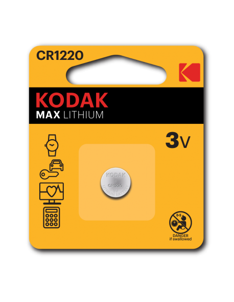 KODAK 3V CR 1220 Battery
