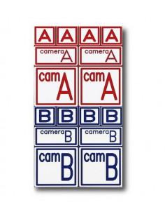 Camera Tags A+B Model 2