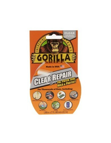 GORILLA Duct Clear Tape 48 mm x 8,2 m roll