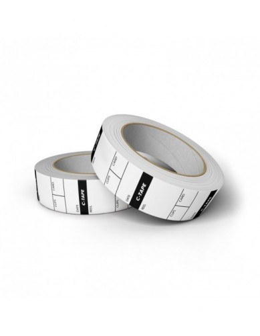 C-Tape25mm x 15m - 250 Labels - White